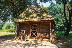 传统农村建筑学在波兰 库存图片