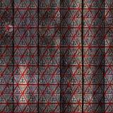 传统刺绣启发的无缝的样式设计 mezen绘画 库存照片