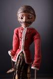 传统印度尼西亚的木偶 免版税库存照片