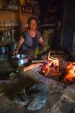 传统厨房亚洲 免版税库存图片