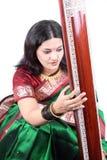 传统古典的歌唱家 库存图片