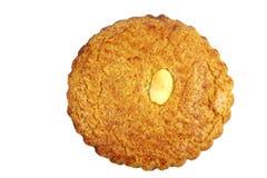传统叫的荷兰语gevulde koek的酥皮点心 免版税库存照片