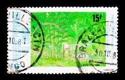 传统圈套和陷井, serie,大约1981年 免版税库存图片