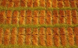 传统土耳其果仁蜜酥饼 库存图片
