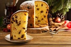 传统圣诞节意大利节日糕点用干果子 库存图片