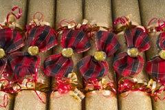 传统圣诞节薄脆饼干 库存照片