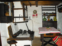 传统地道的厨房 图库摄影