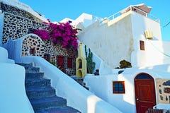 传统基克拉泽斯洞房子外部希腊 图库摄影