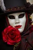 传统威尼斯式狂欢节屏蔽 免版税库存图片