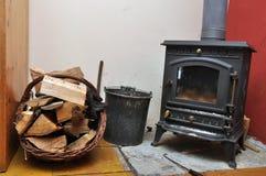 传统家庭熔炉 免版税库存照片