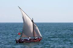 传统小船 库存图片