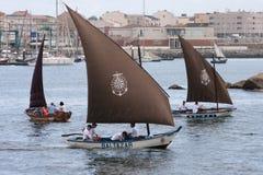 传统小船 免版税库存图片