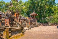传统巴厘语印度寺庙建筑学 库存照片