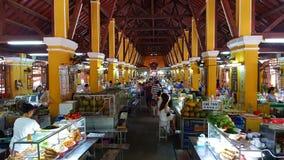 传统市场在会安市越南 库存图片