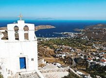 传统希腊大教堂 图库摄影