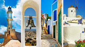 传统希腊 库存图片