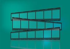 传统影片的主街上 免版税图库摄影