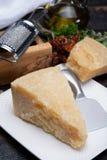 传统意大利食物- 36个月在洞意大利人parme变老了 库存图片