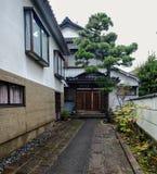 传统房子在京都,日本 库存图片