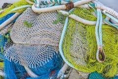 传统捕鱼网 免版税库存图片