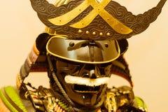 传统日本幕府时代的将军武士装甲 库存照片