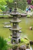 传统日本的雕塑 免版税库存照片
