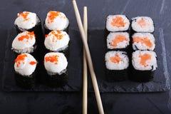 传统日本食物关闭 免版税库存图片
