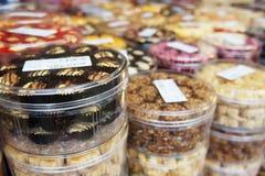 传统曲奇饼的马来语 免版税库存照片