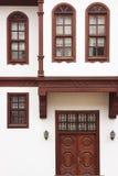 传统木土耳其房子 免版税库存照片