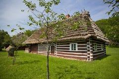 传统木房子 免版税库存照片