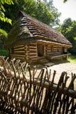 传统木房子 免版税库存图片