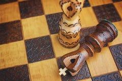 传统木棋形象 库存图片