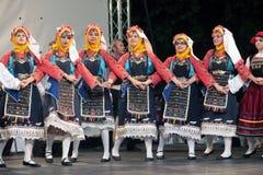 传统每年舞蹈的活动 免版税库存图片