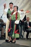 传统每年舞蹈的活动 免版税库存照片