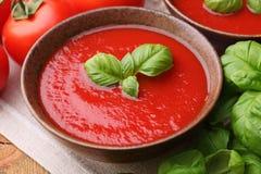 传统汤的蕃茄 免版税库存照片