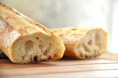 传统法国的大面包 免版税库存图片