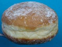 传统波兰油炸圈饼 免版税库存图片
