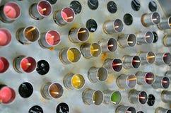 传统泰国冰棍儿制造商被做通过使用汁液 库存图片