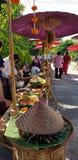 传统泰国市场 免版税图库摄影