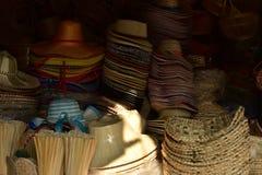 传统泰国被编织的秸杆纹理 库存照片