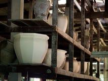 传统泰国Benjarong,陶瓷,泰国 免版税库存照片