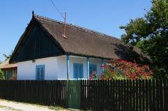传统渔夫的房子 库存图片