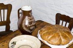 传统漂泊的面包 图库摄影