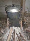 传统火火炉 库存照片