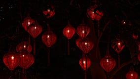 传统灯笼在会安市 库存照片