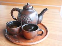 传统爪哇的茶 库存图片