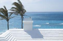 传统百慕大的屋顶 免版税库存图片