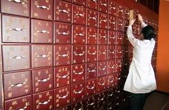 传统的中医 免版税库存图片