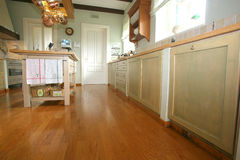 传统的厨房 库存照片