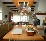 传统的厨房 图库摄影